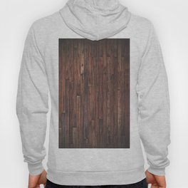 Cherry Stained Wood Barn Board Texture Hoody