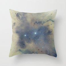 Twin Stars Throw Pillow