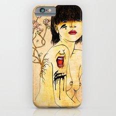 Portrait - asian woman iPhone 6s Slim Case