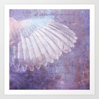 wings Art Prints featuring WINGS by VIAINA