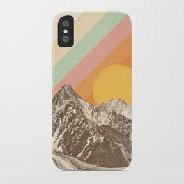 Mountainscape 1 iPhone Case