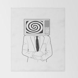 Mind Control Throw Blanket