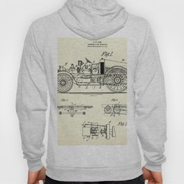Automobile Fire Apparatus-1916 Hoody