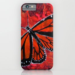 Winged Fire iPhone Case
