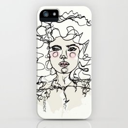 Natural Curls iPhone Case