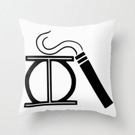 Phi Cig Throw Pillow