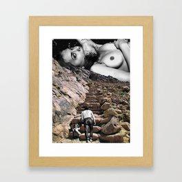 Voyage au bout de la nuit III Framed Art Print