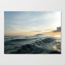 Velvet Sea Canvas Print