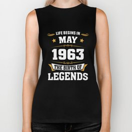May 1963 55 the birth of Legends Biker Tank