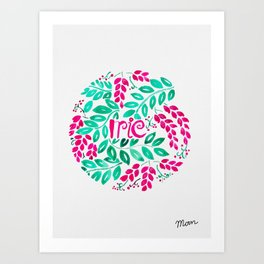 Irie Art Print