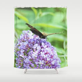Butterfly X Shower Curtain