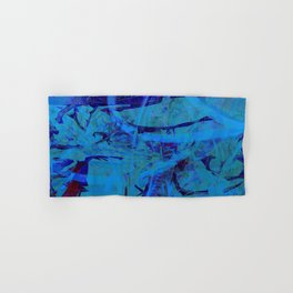 Blue heat Hand & Bath Towel