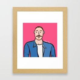 Beard Boy: Jose Manuel Framed Art Print