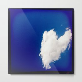 Heart 1: Cloud Metal Print