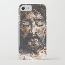 Holy Face of the Dead Christ iPhone Case