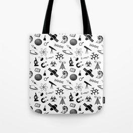 Symbols of Science Tote Bag