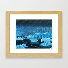 Visions of Antarctica Framed Art Print