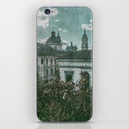 Colonial Architecture at Historic Center of Bogota Colombia iPhone Skin