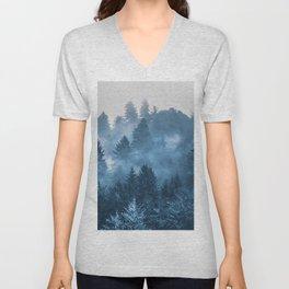 Blue Forest Melody  - 18/365 Unisex V-Neck
