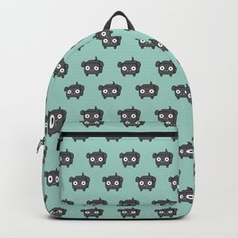 Pitbull Loaf - Blue Grey Pit Bull with Floppy Ears Backpack