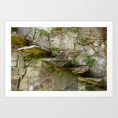 The Fragile Stairs Art Print