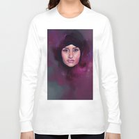 islam Long Sleeve T-shirts featuring Wonder by Georgina Elizabeth