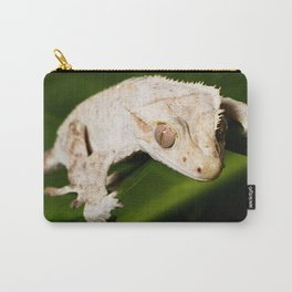 White Gecko Carry-All Pouch