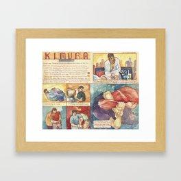 Kimura Framed Art Print