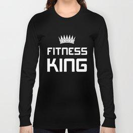 Fitness King Long Sleeve T-shirt
