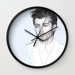 Zayn sketch Wall Clock
