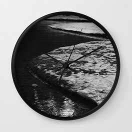 Snowy River Bank 2 Wall Clock