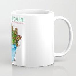 Jellybean Succulent Coffee Mug