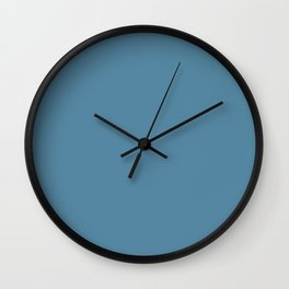 Spring 2017 Designer Colors Niagara Blue Wall Clock
