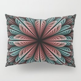 Fantasy flower and petals IV Pillow Sham