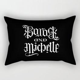 Barack and Michelle Rectangular Pillow