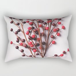Minimal Christmas Bouquet Rectangular Pillow