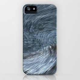 Blue Modern  iPhone Case