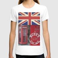 british T-shirts featuring Very British by LebensART