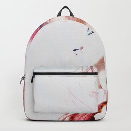 Red hair city Backpack