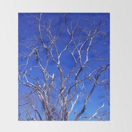 Dead Tree Defiance Throw Blanket
