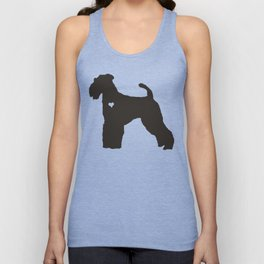 My Airedale Terrier Heart Belongs To You Unisex Tank Top