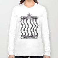 berlin Long Sleeve T-shirts featuring Berlin by Jan Luzar