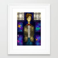 mandie manzano Framed Art Prints featuring The Eleventh by Mandie Manzano