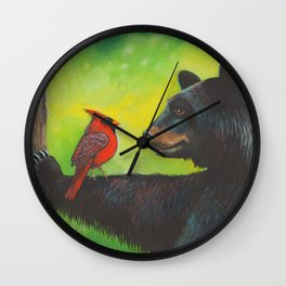 The Negotiation by Robyne Wall Clock