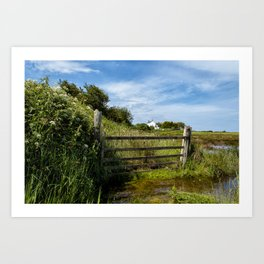 Horsey Island Art Print