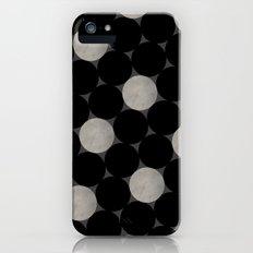 Black Polka Slim Case iPhone (5, 5s)