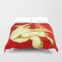 pasta Duvet Covers featuring Pasta Baroni Leonetto Cappiello by aapshop