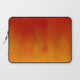 Flames of Gold Laptop Sleeve