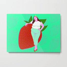 Strawberry Sweet Metal Print