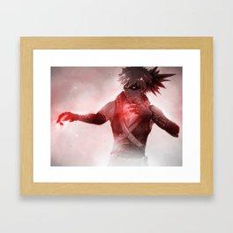 Feelin' Invincible | Katsuki Bakugou Framed Art Print